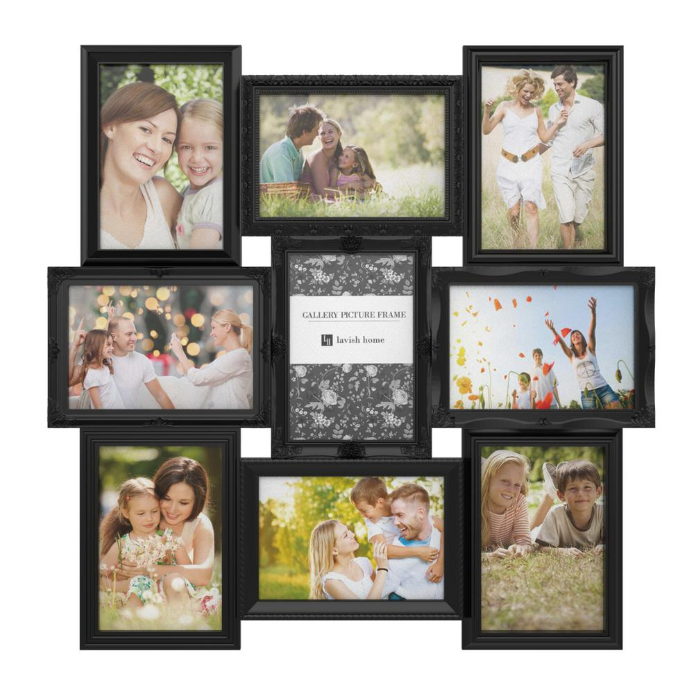 Black Picture Frame Collage