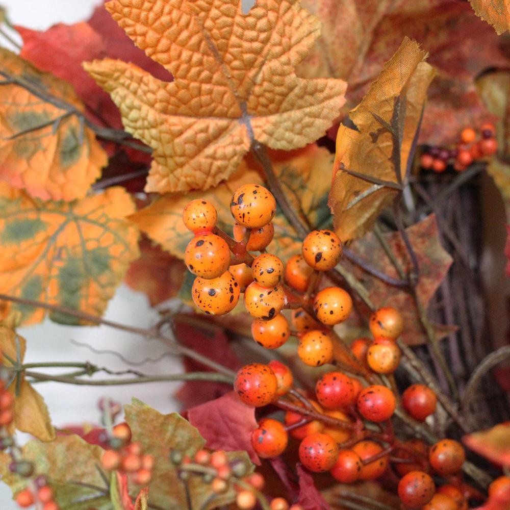 Northlight 32 in. Autumn Harvest Artificial Wreath