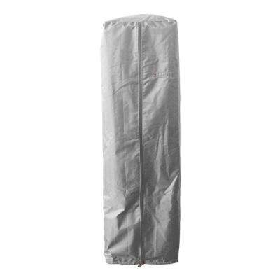 38 in. Heavy Duty Silver Portable Glass Tube Heater Cover