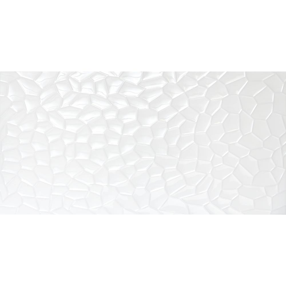 3x3 ceramic tile tile the home depot jazz white glossy 1181 in x 2362 in ceramic wall tile dailygadgetfo Gallery