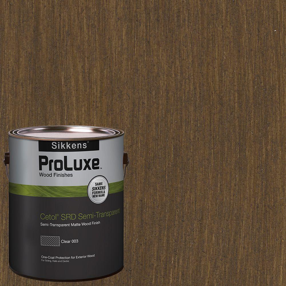 Sikkens ProLuxe 1-gal. #HDGSRD-ST-214 Hickory Cetol SRD Semi-Transparent Exterior Wood Finish
