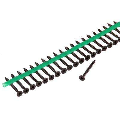 Auto Feed Subfloor Screws Strips-30 Pack of 2100