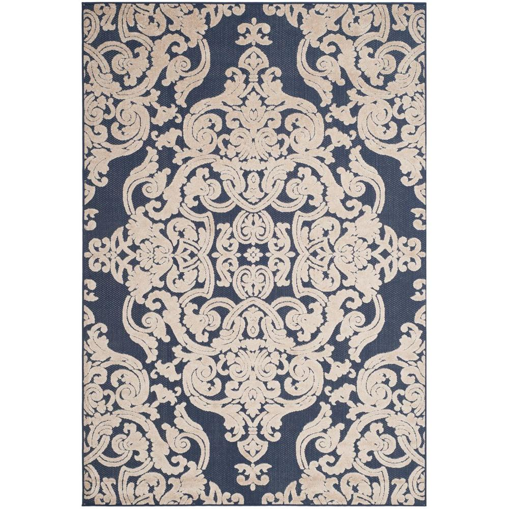 nicole sofia rugs indooroutdoor blue wayfair miller pdx navy indoor area navyblue rug outdoor medallion