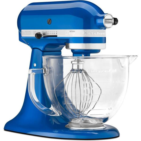 KitchenAid Artisan Designer Series 5 qt. Stand Mixer in Electric Blue-DISCONTINUED
