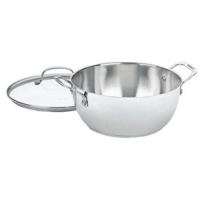 Stainless Steel 5.5-Qt. Multi-Purpose Sauce Pan