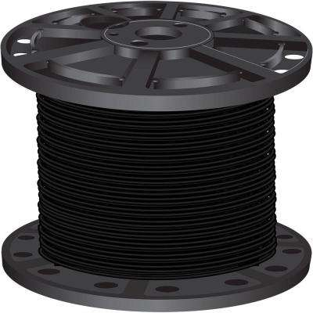 500 ft. 10-Gauge Black Stranded CU XHHW Wire