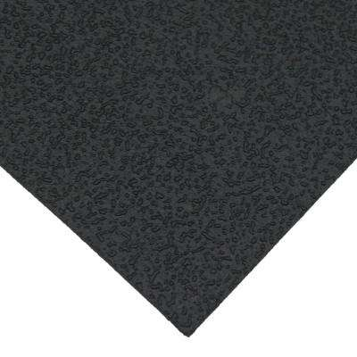X-Derm 1/16 in. x 48 in. x 36 in. 60A Textured Recycled Rubber Sheet