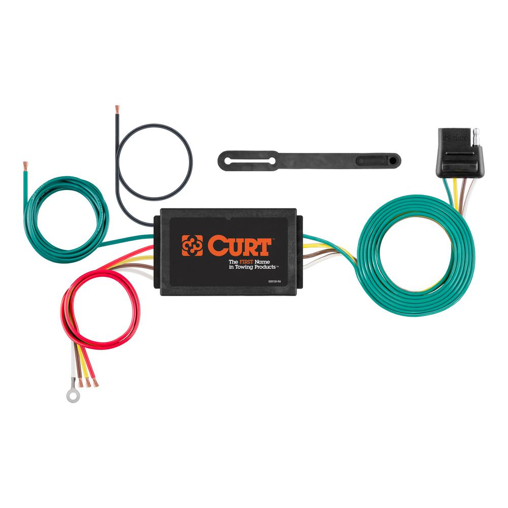 Curt Powered 3 To 2 Wire Taillight Converter 56187 The Home Depot