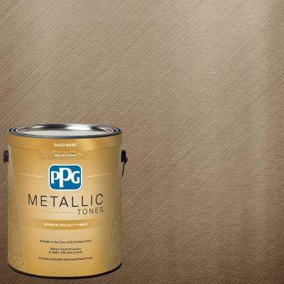 1  gal. #MTL134 Bronzed Ginger Metallic Interior Specialty Finish Paint