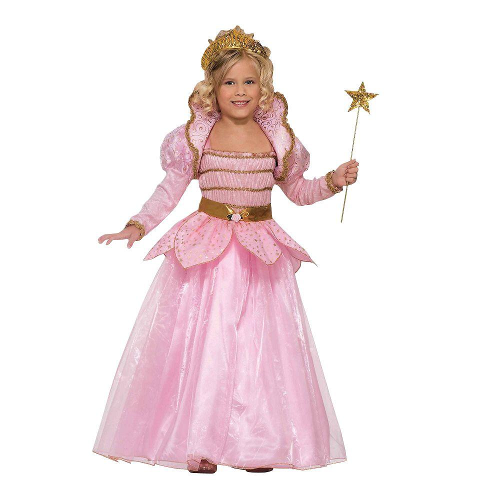 e6250bd2c Forum Novelties Girls Little Pink Princess Costume-F62582_S - The ...