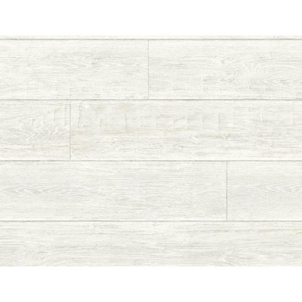 Luxe Haven Porcelain Rustic Shiplap Peel and Stick Wallpaper (Covers 40.5 sq. ft.)
