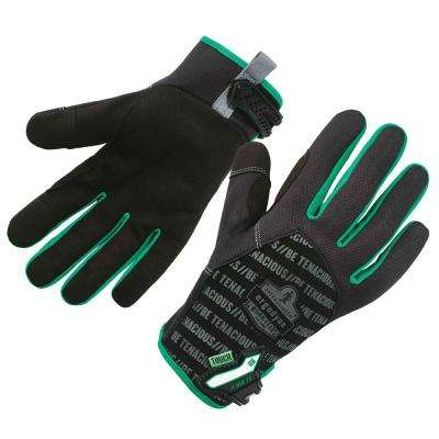 ProFlex Small Black Utility + Touch Work Gloves