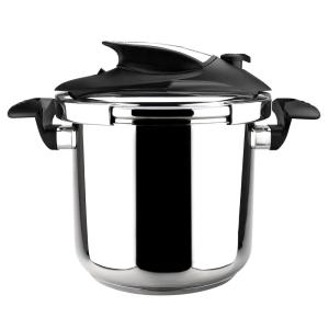 Click here to buy Magefesa Nova 6.3 Qt. Stainless Steel Stovetop Pressure Cookers by Magefesa.