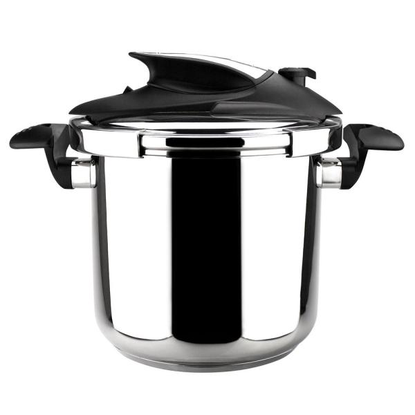 Magefesa Nova 6.3 Qt. Stainless Steel Stovetop Pressure Cookers 01OPNOVA006