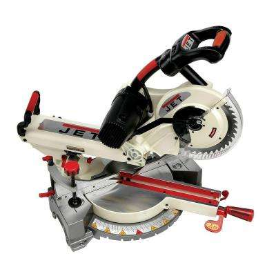 10 in. Corded Sliding Dual Bevel Compound Miter Saw with Laser 15-Amp JMS-10SCM