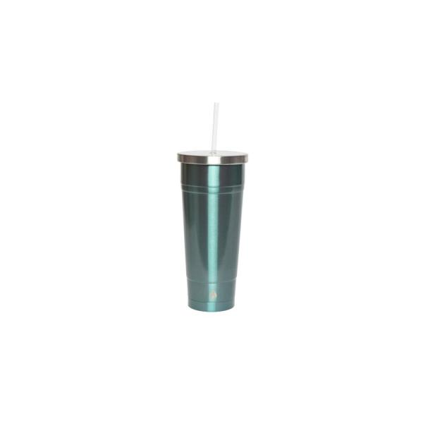 4903c1b9d36 Manna 24 oz. Ice Stainless Steel Vacuum Tumbler HD18106 - The Home Depot