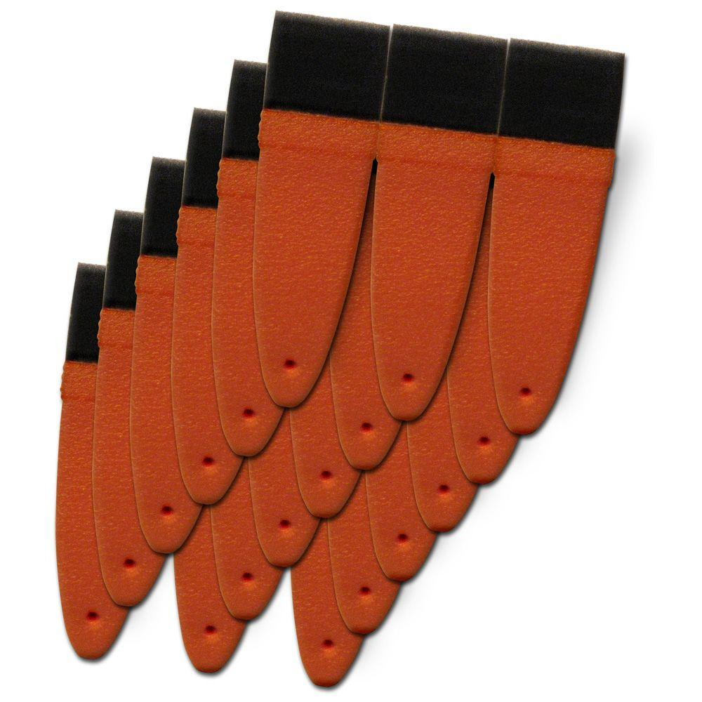 Ze-Vo PumpkinHead 1-1/2 in. Paint Brushes (6-Pack)