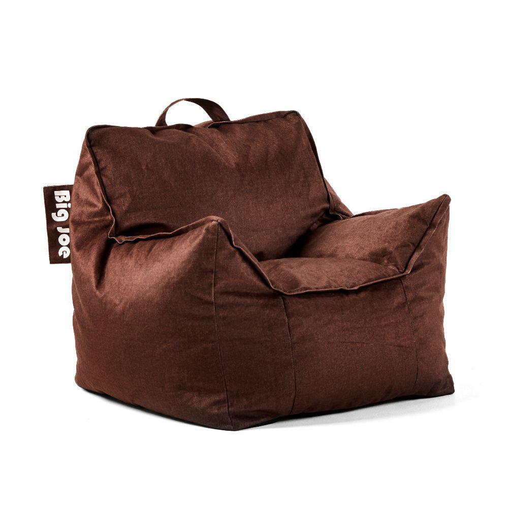 Kids mitten chair cocoa lenox bean bag