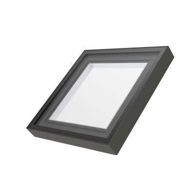 FXC 34-1/2 in. x 46-1/2 in. Fixed Curb-Mounted Skylight with Laminated LowE366 Glass