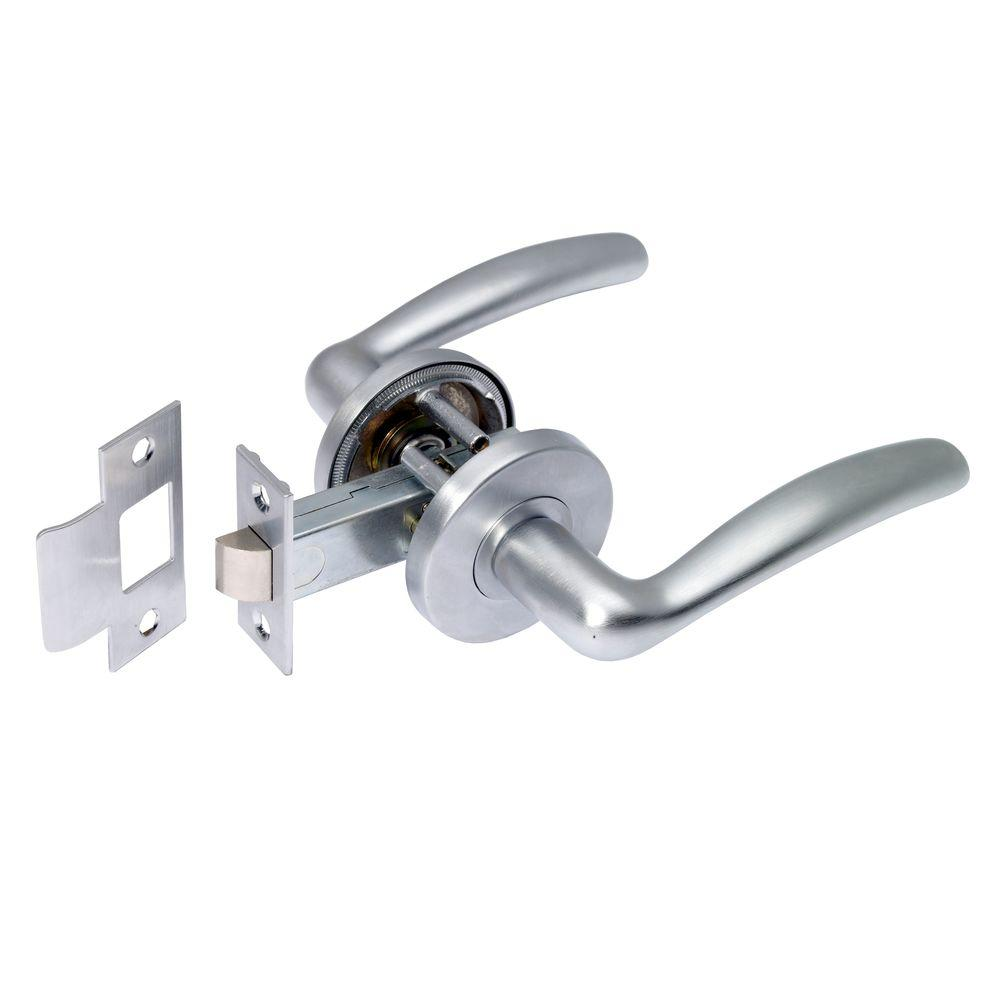 Manital Easy Satin Chrome Passage Lever
