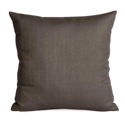 Sterling Grays Solid Polyester 5 in. x 20 in. Throw Pillow