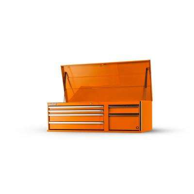 Tech Series 56 in. 6-Drawer Top Chest, Orange