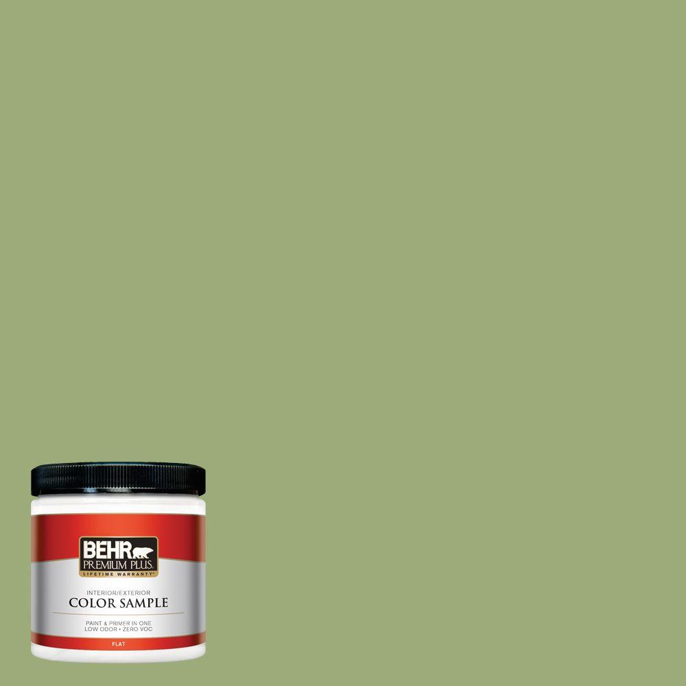Behr Premium Plus 8 Oz S G 440 Green Acres Flat Interior