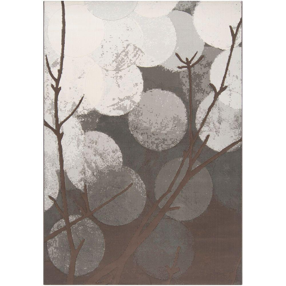 Artistic Weavers Dadaab Gray 3 ft. 11 in. x 5 ft. 7 in. Area Rug