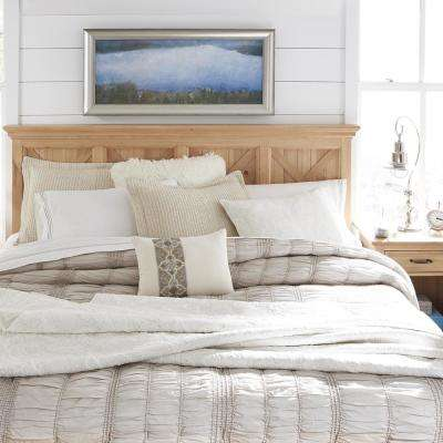 Country Lodge 2-Piece Pine King Bedroom Set
