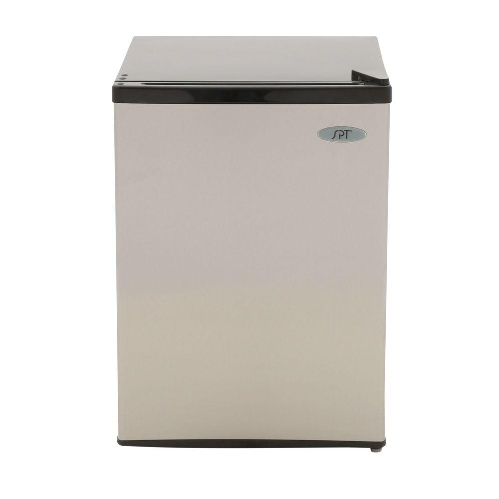 2.4 cu. ft. Mini Refrigerator in Stainless, ENERGY STAR