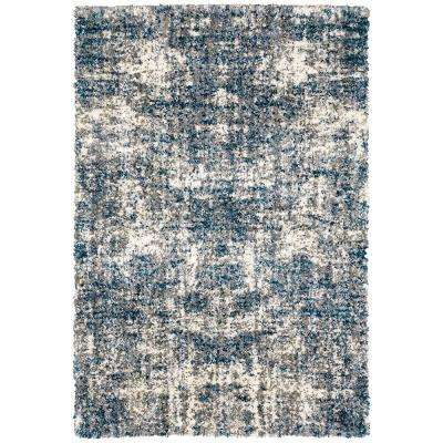 Nordic Blue 5 ft. 3 in. x 7 ft. Area Rug