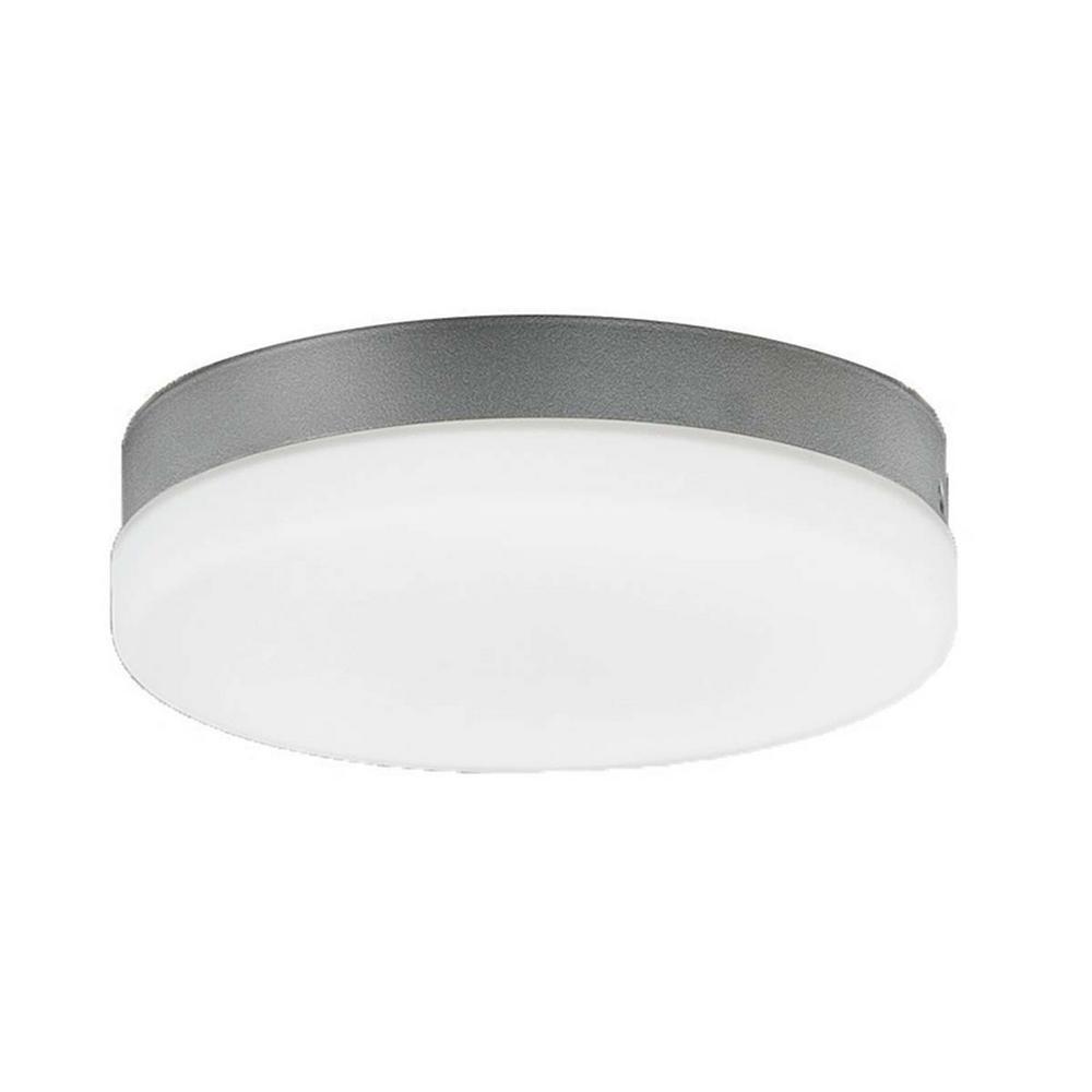 Aviator 1-Light LED 3000K Ceiling Fan Light Kit in Graphite