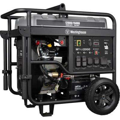 Pro 15,000/12,000-Watt Ultra Duty Gas Powered Portable Industrial Generator with Remote Start and Full Panel GFCI