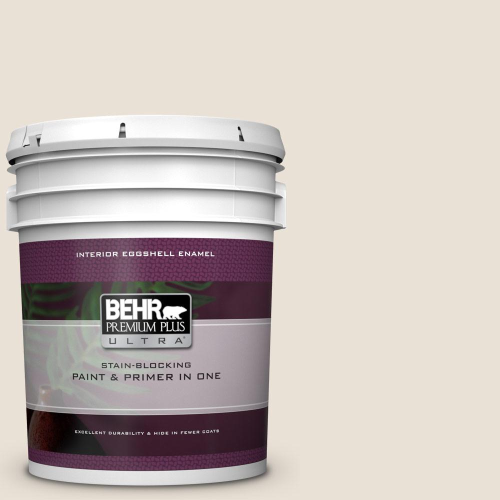 730c 1 White Clay Eggshell Enamel Interior Paint And Primer In One