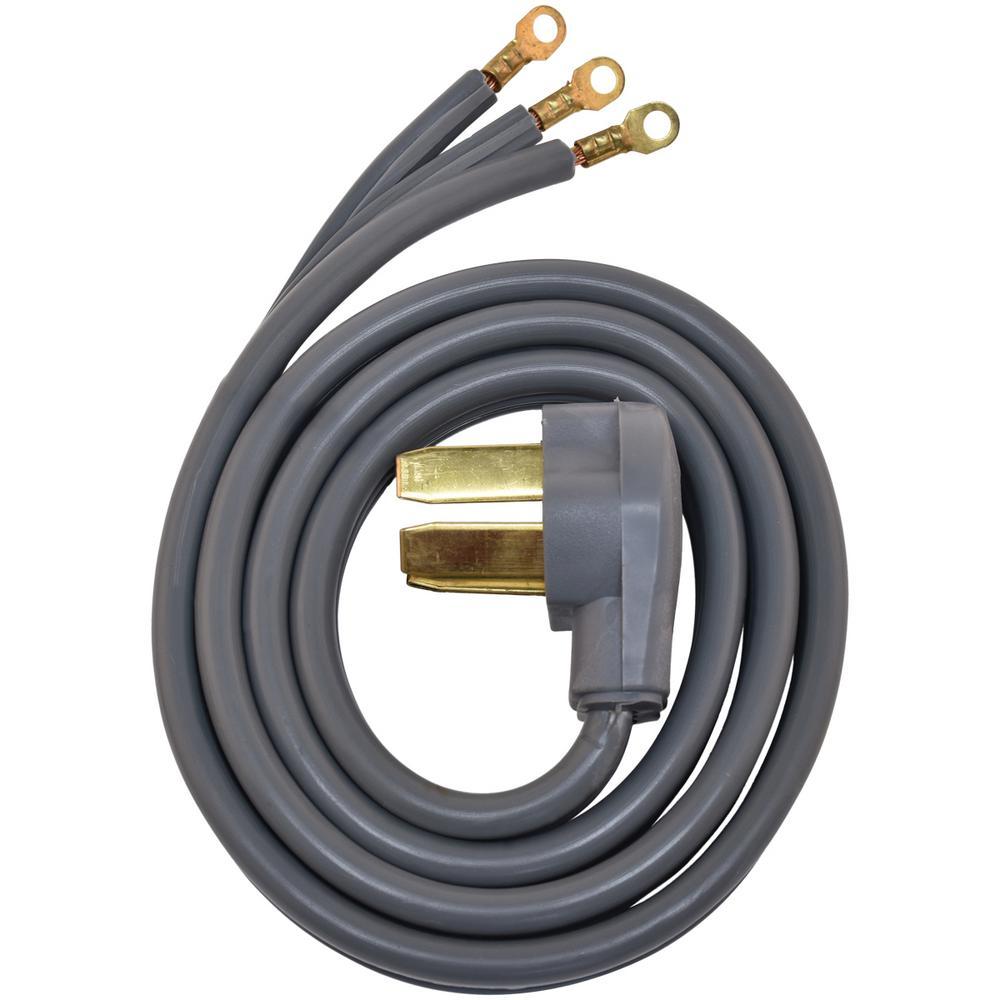 EZ-FLO 5 ft. 8/3 3-Wire Range Cord