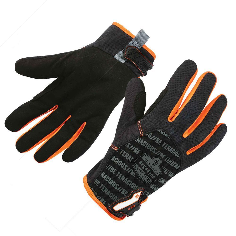 ProFlex Small Black Standard Utility Work Gloves