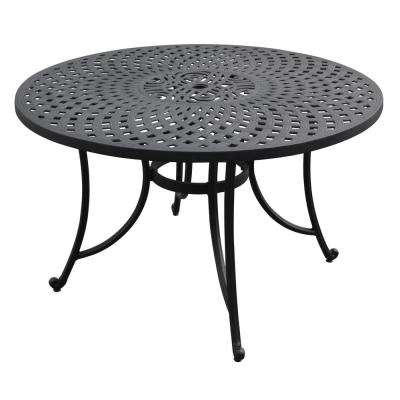 9deafdd75812 Round - Cast Aluminum - Patio Tables - Patio Furniture - The Home Depot
