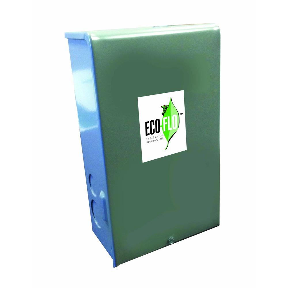 Eco Flo 3 4 Hp Control Box For In Well Pump Efcb7 Hd The Home Depot Septic Wiring Diagram Free Picture