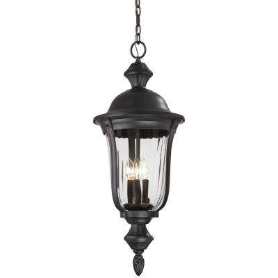 Morgan Park Heritage 3-Light Hanging Outdoor Lantern