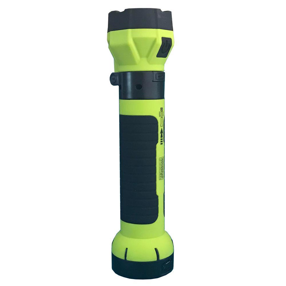 Lightbolt Max Cordless Rechargeable Multi-Function Work Light, Green