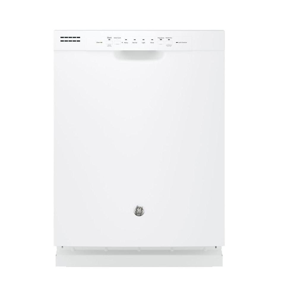 Front Control Built-In Tall Tub Dishwasher in White