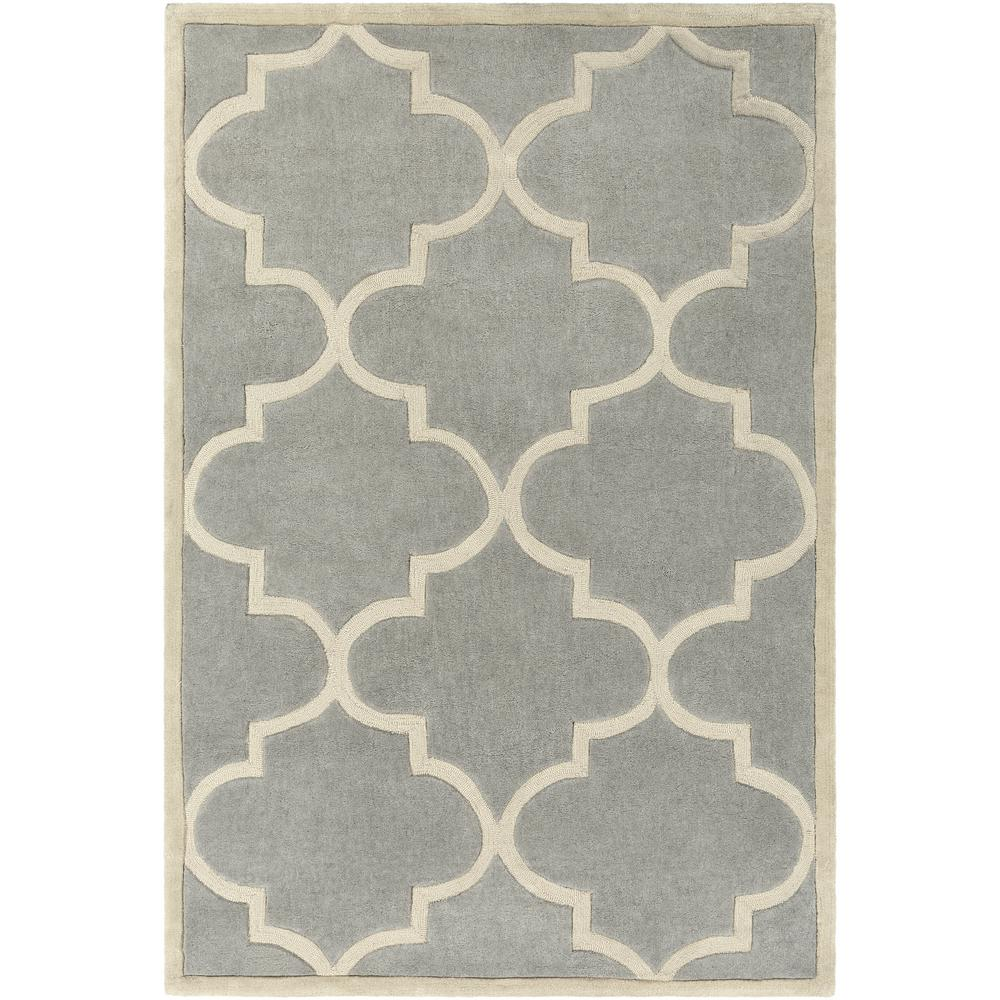 Santorini Harmony Gray 8 ft. x 10 ft. Indoor Area Rug