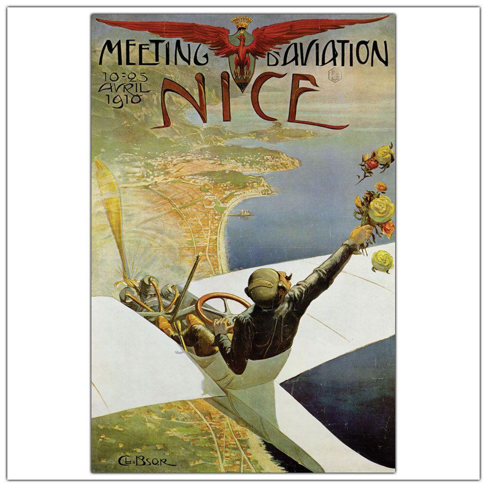 26 in. x 32 in. Meeting Aviation Nice Canvas Art