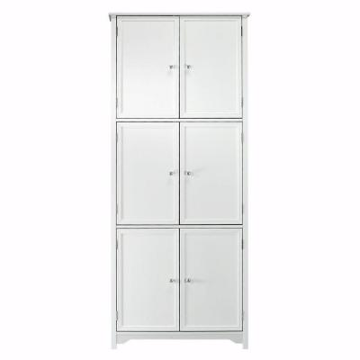 Oxford White Storage Cabinet
