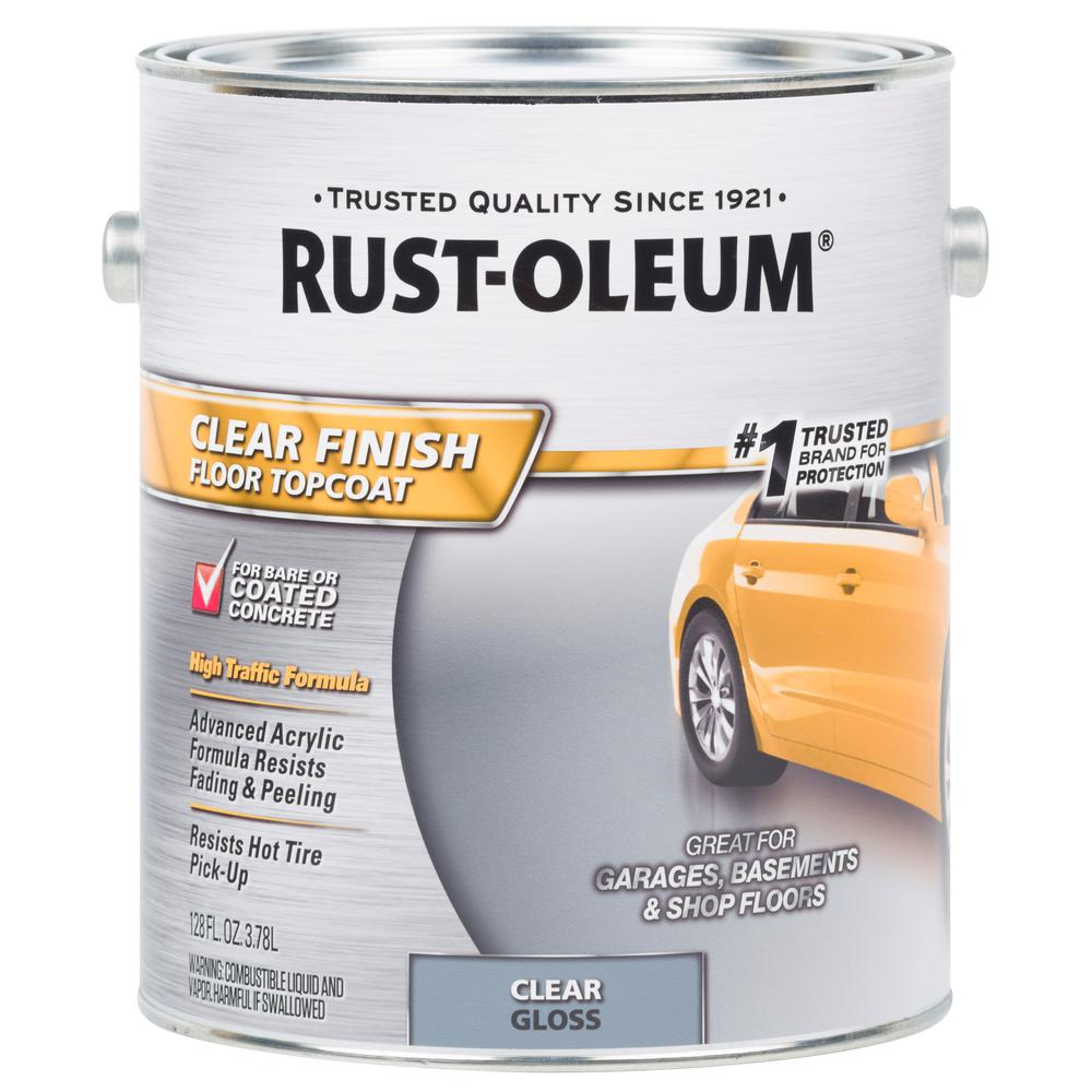 Rust-Oleum 1 gal  Clear Concrete and Floor Topcoat