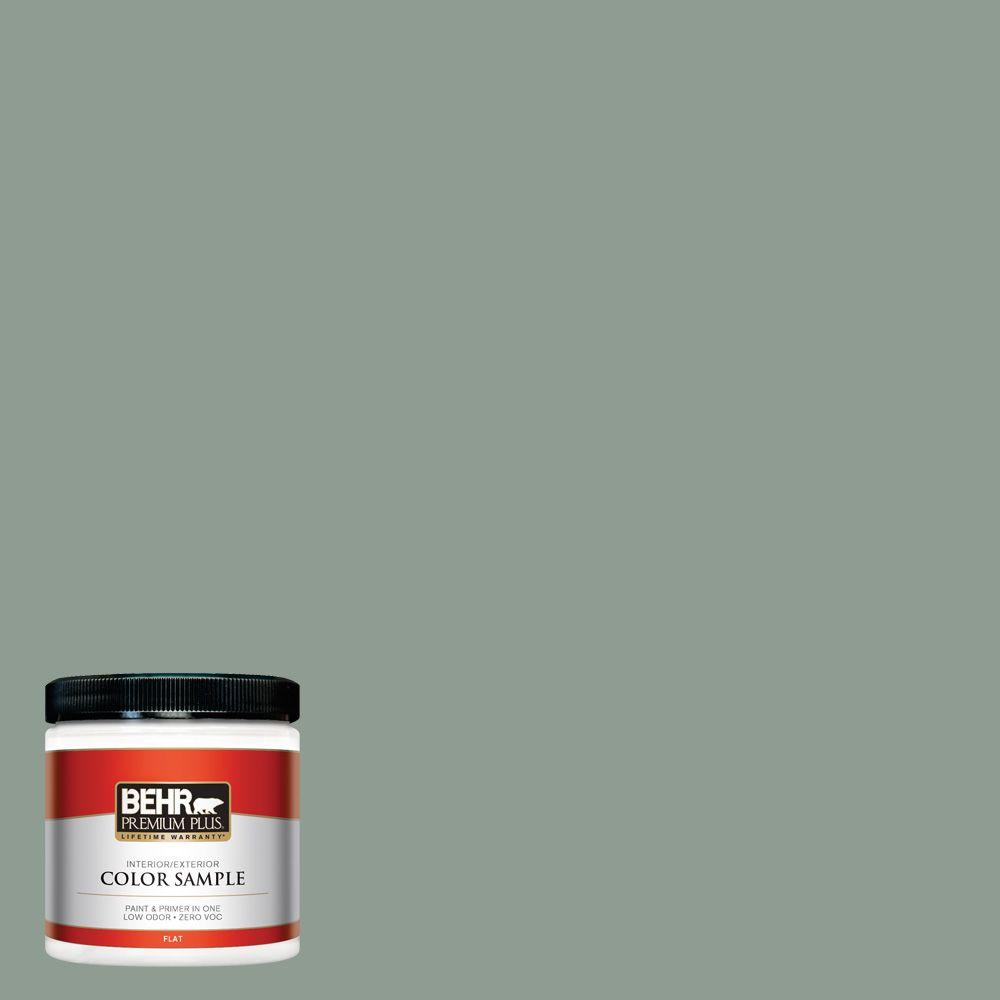 BEHR Premium Plus 8 oz. #ICC-104 Balsam Fir Interior/Exterior Paint Sample