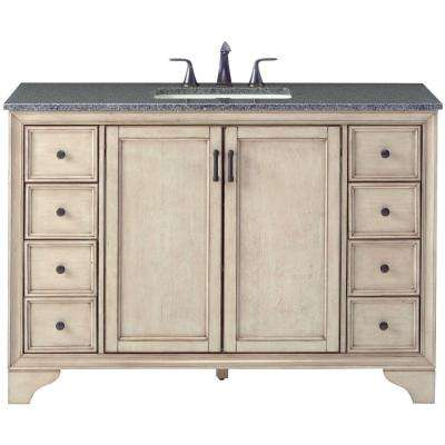 d bath vanity in antique grey with