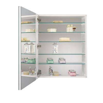Metro Deluxe Oversize 20 in. x 25 in. x 5 in. Frameless Recessed or Surface-Mount Bathroom Medicine Cabinet