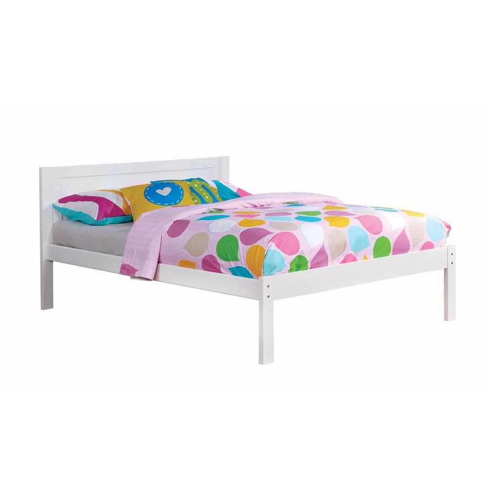 Annemarie Full Bed in White