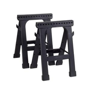 Deals on 2-Pack Husky23 in. Folding Sawhorse 226863